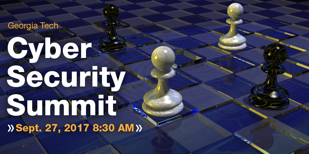 cyber security summit Sept 27 2017