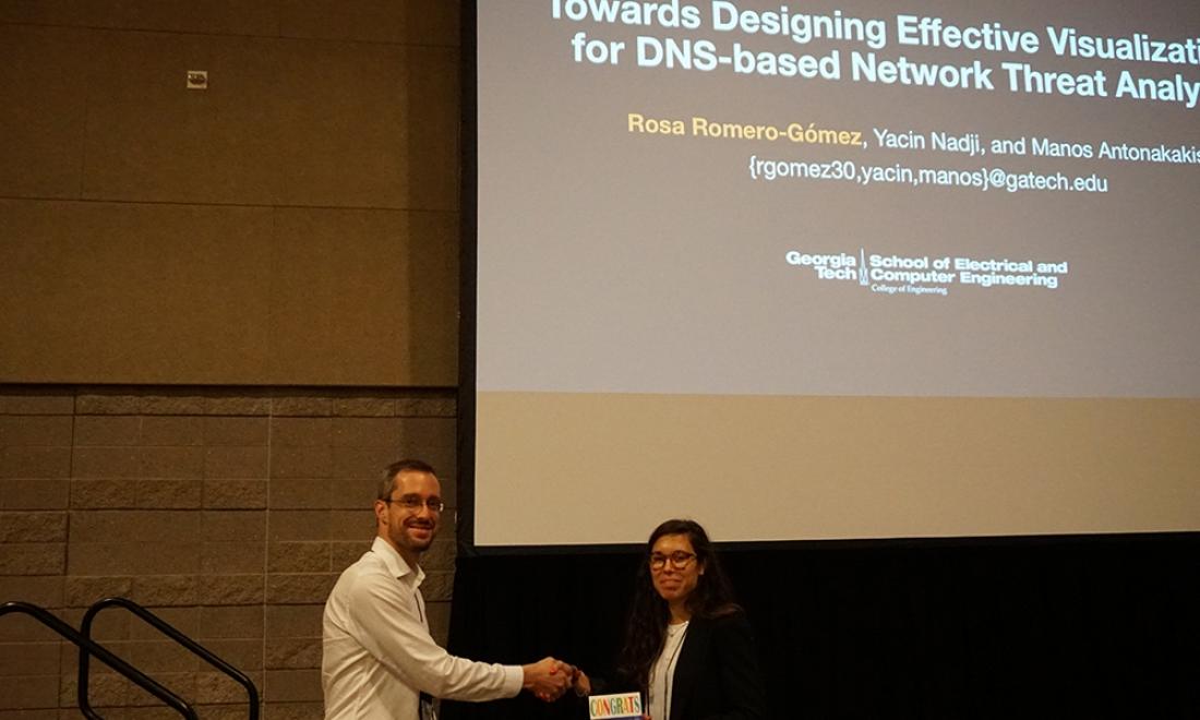 Romero-Gomez Wins Best Paper Award